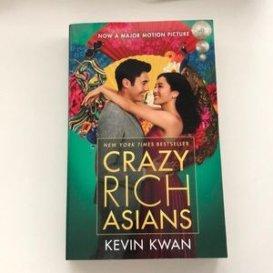 Book by Kevin Kwan - Crazy Rich Asians